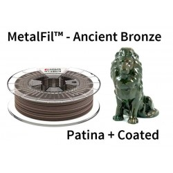 1,75 mm, MetalFil Bronze, filaments FormFutura, 1kg