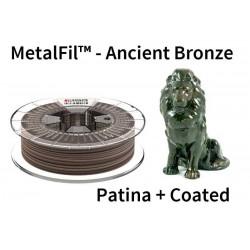 1,75 mm, MetalFil Bronze, filaments FormFutura, 0,75kg