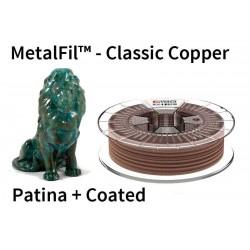 2,85 mm, MetalFil Meď, tlačové struny FormFutura, 0,75kg