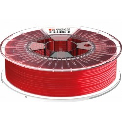 1,75 mm - HDglass™ See Through - Red - filaments FormFutura - 0,75kg