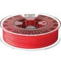 1,75 mm - ABS ClearScent™ - Červená - 90% priehľadnosť - tlačové struny FormFutura - 0,75kg