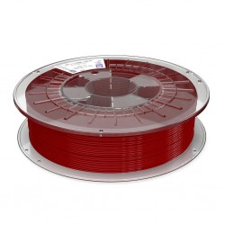 2,85 mm - MD flex Copper 3D - Červená - tlačové struny FormFutura - 0,75kg
