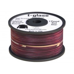 1,75 mmTaulman T-glase - as Nylon - Červená - tlačové struny FormFutura - 0,45kg